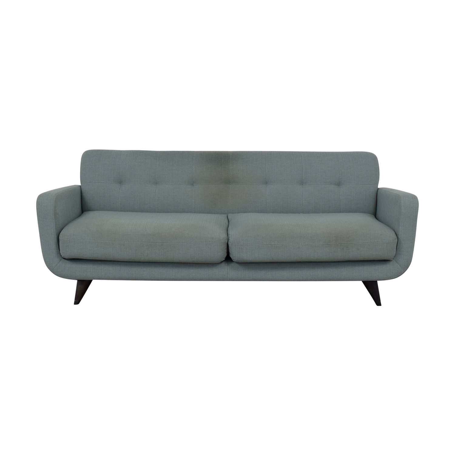 Room & Board Room & Board Anson Grey Two-Cushion Sofa nj