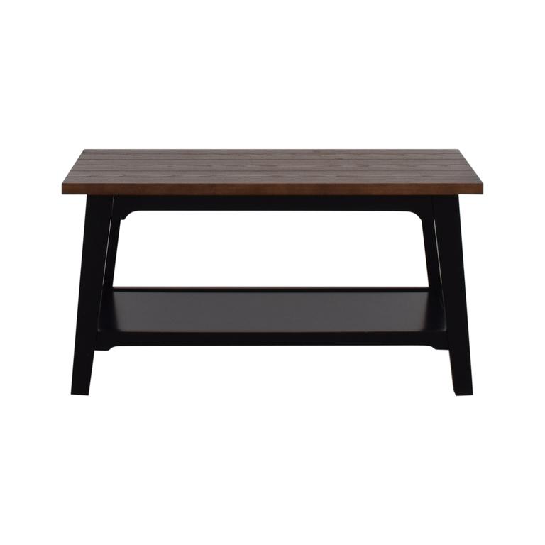 Bed, Bath, & Beyond Bed Bath & Beyond Brown Wood Coffee Table price