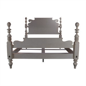 Ethan Allen Ethan Allen Quincy Off-White Queen Bed Frame discount
