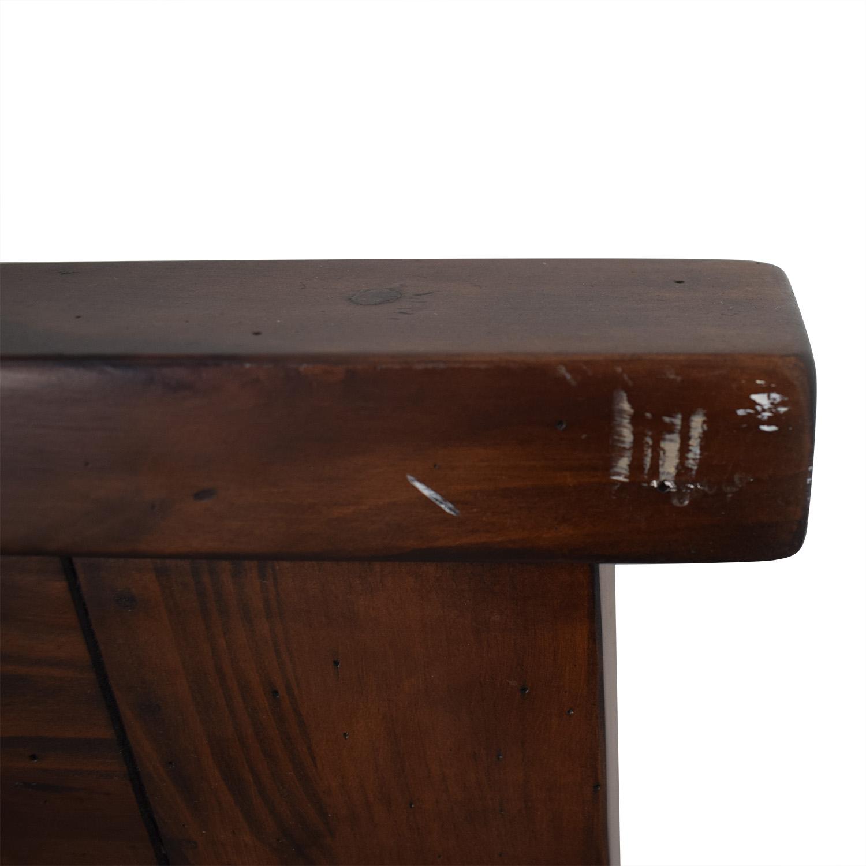 Pier 1 Queen Wood Headboard / Headboards