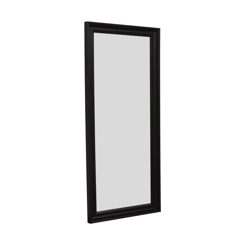 Ikea Hemnes Brown Framed Floor Mirror Ikea