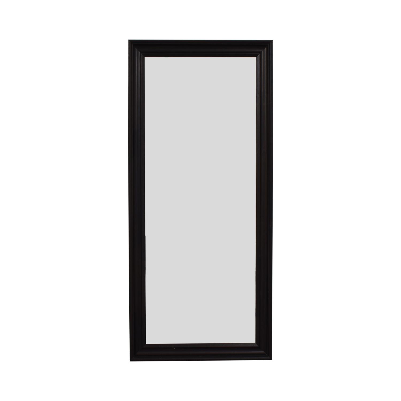 Ikea Ikea Hemnes Brown Framed Floor Mirror brown