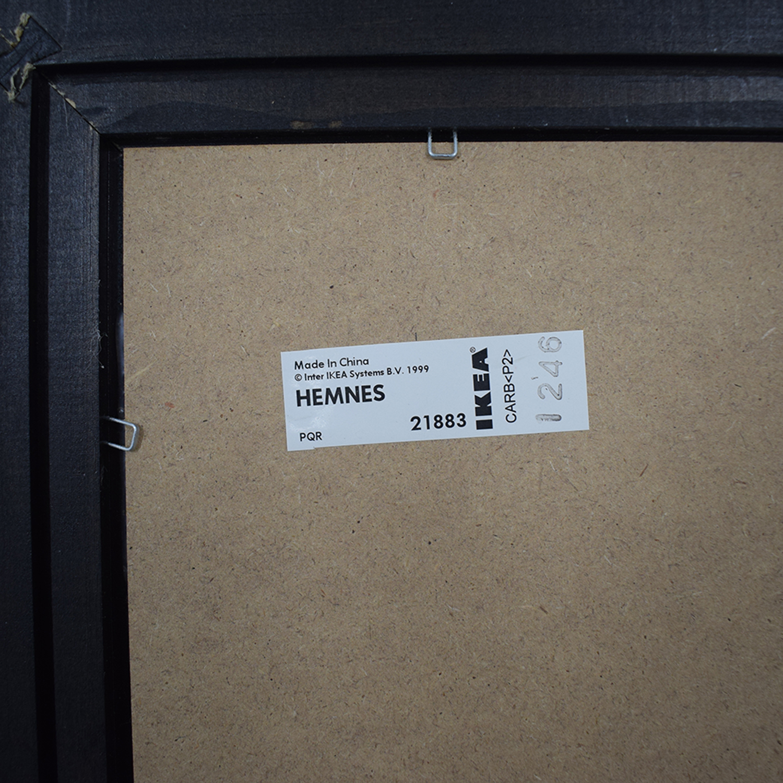 Ikea Ikea Hemnes Brown Framed Floor Mirror nj