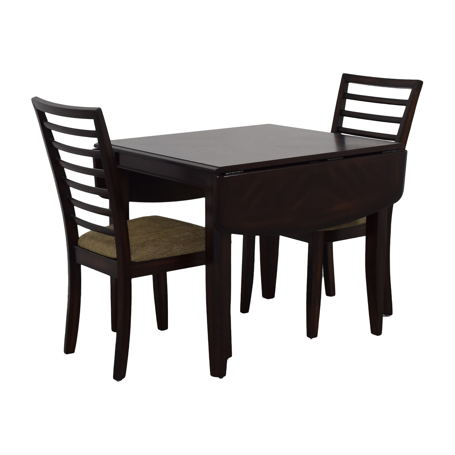 Raymour Flanigan Fold Down Dining Table With Chairs Nyc