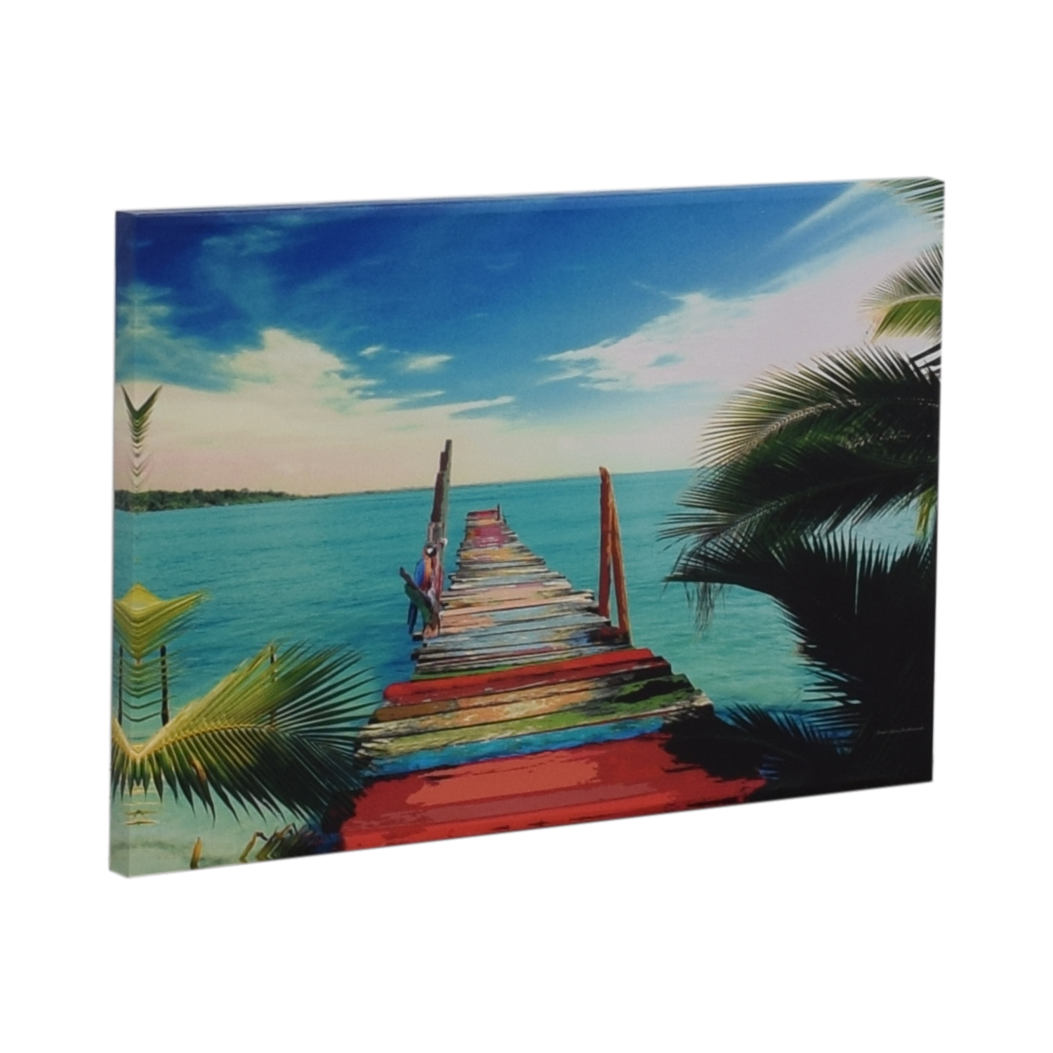 James Gary Richmond Key West Tropical Print on Canvas Wall Art