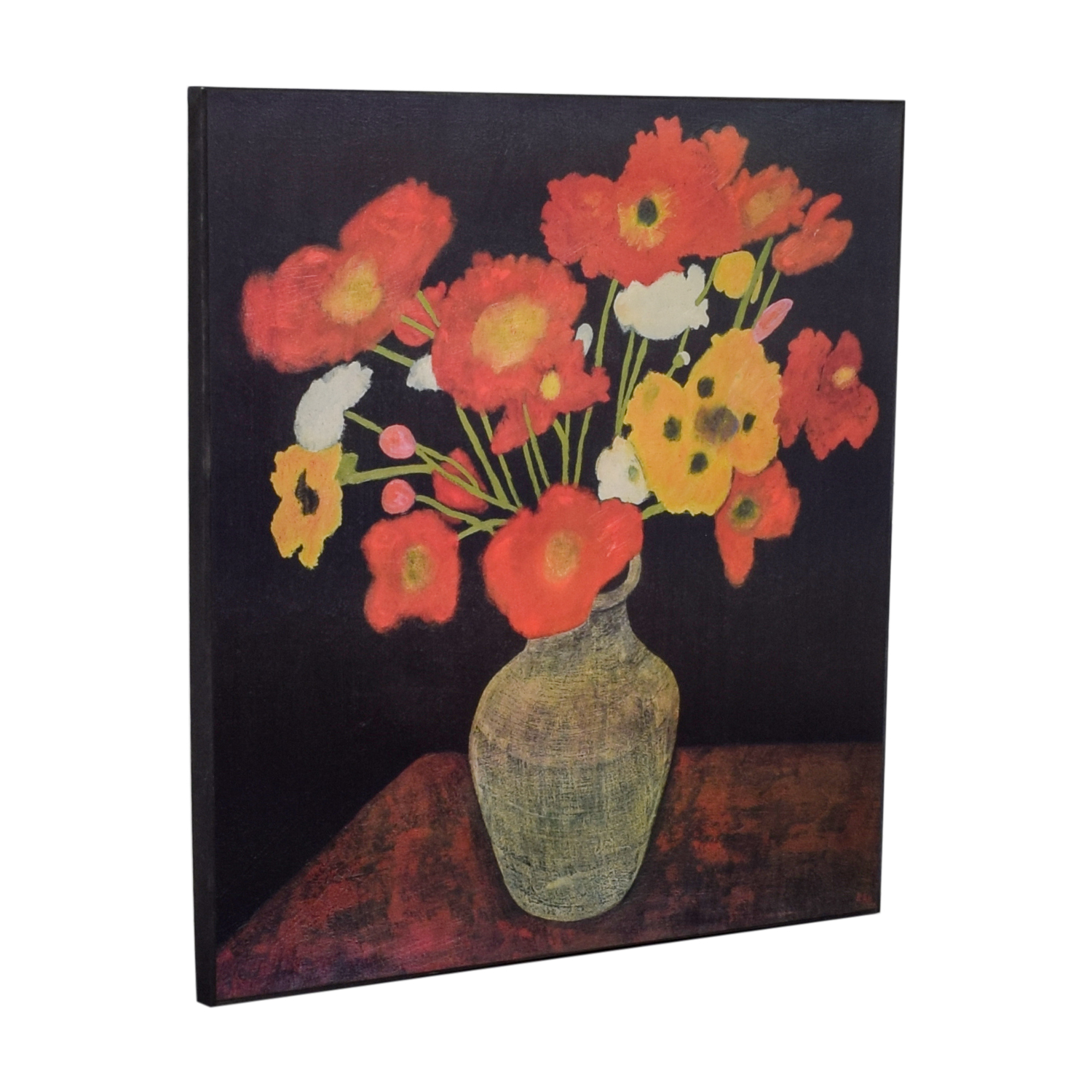 buy Crate & Barrel Jean Poppies Painting Crate & Barrel
