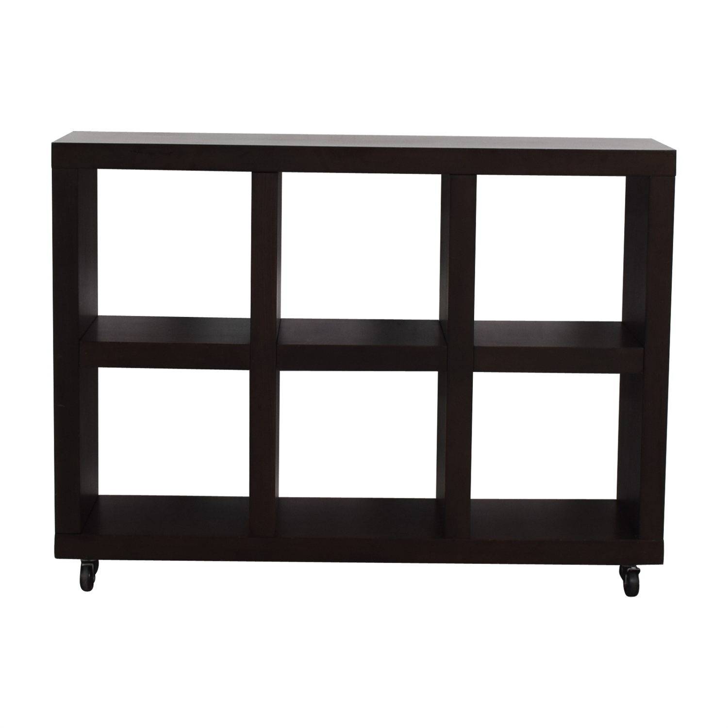 West Elm West Elm Wood Bookshelf discount