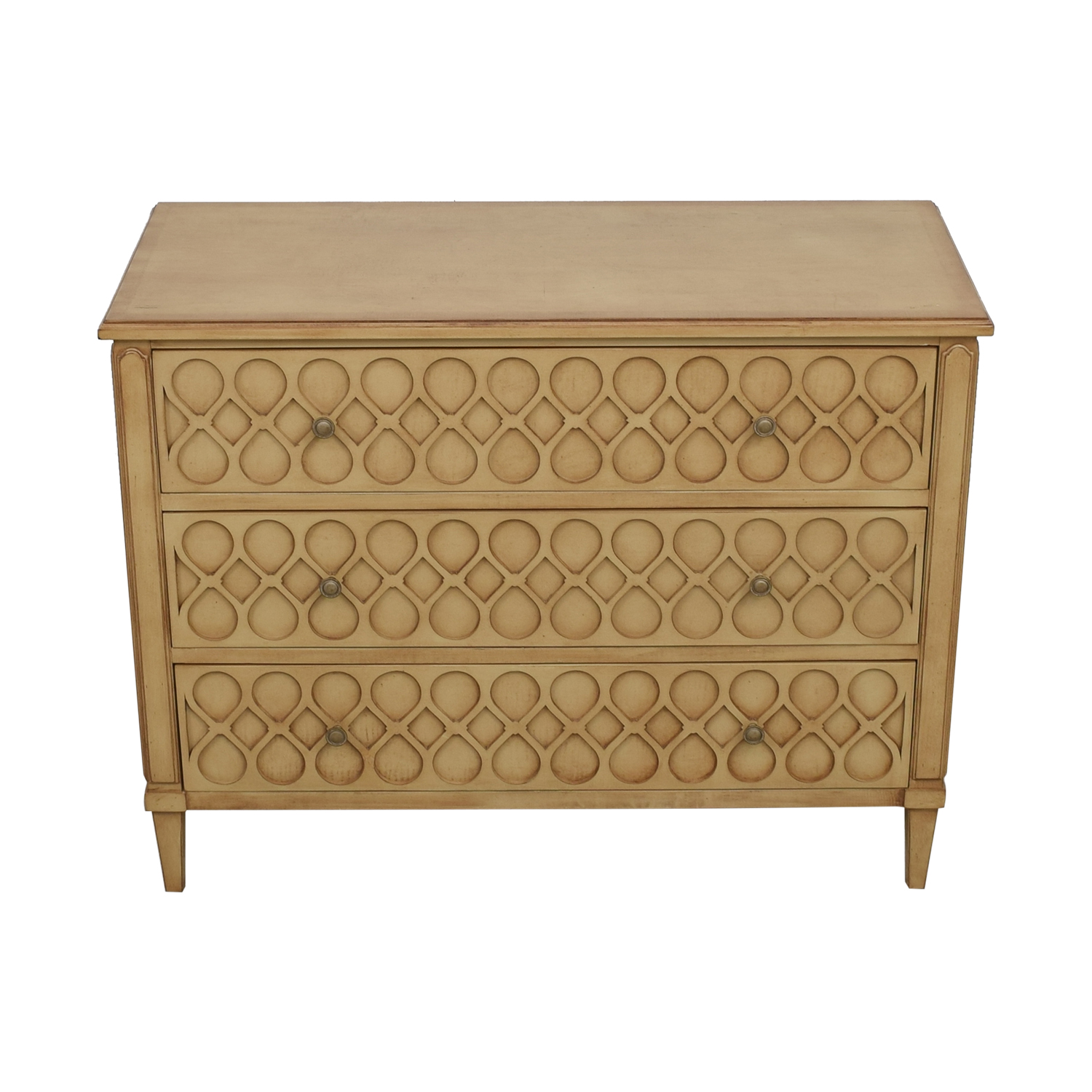 Hickory Chair Hickory Chair Murano Carved Three-Drawer Chest Dresser coupon