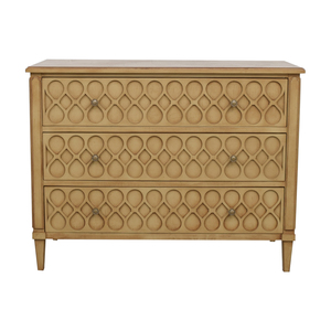 Hickory Chair Hickory Chair Murano Carved Three-Drawer Chest Dresser nyc