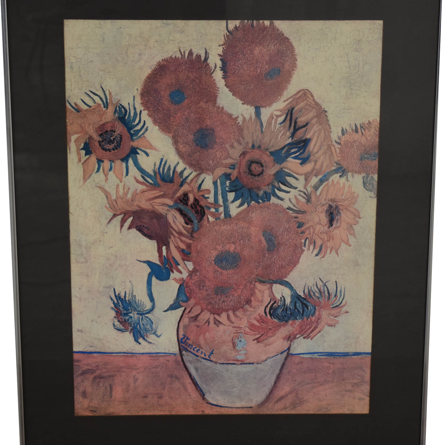 Van Gogh Sunflowers Framed Print nyc