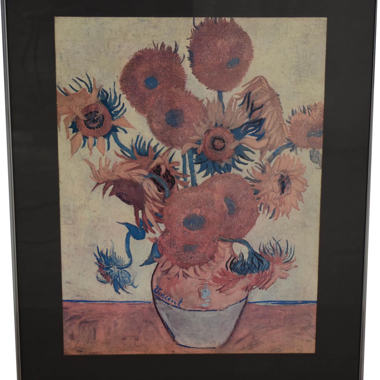 Van Gogh Sunflowers Framed Print nyc