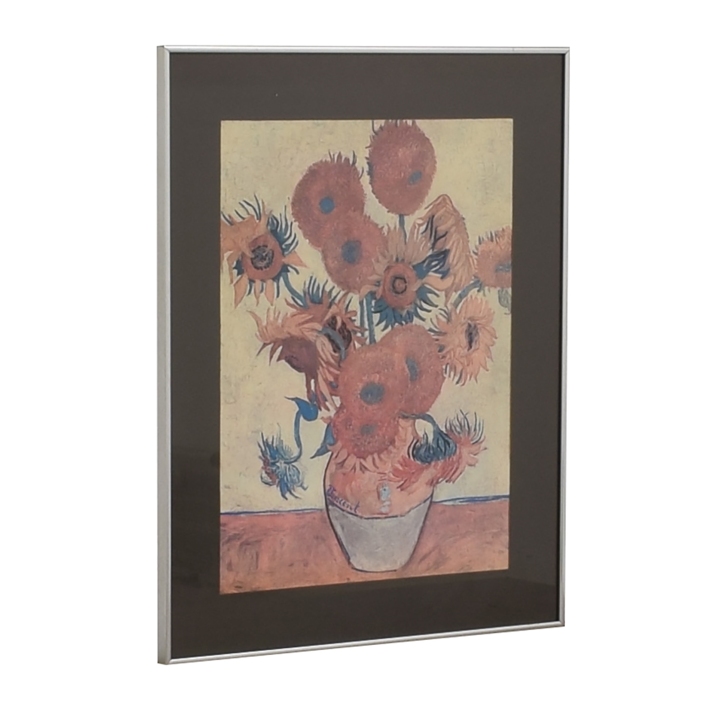 Van Gogh Sunflowers Framed Print Wall Art