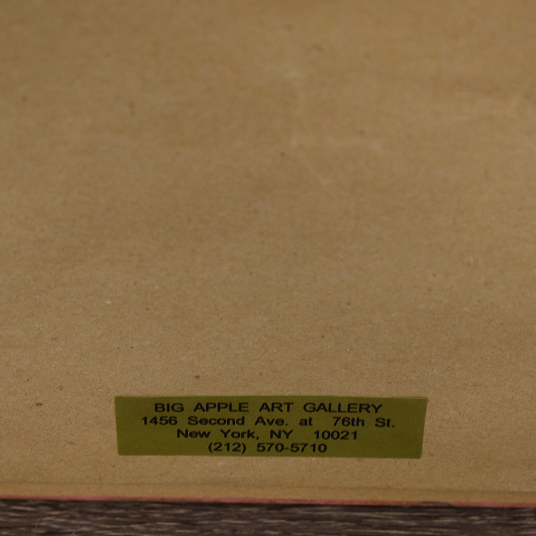 Framed Print of Montmarte Art Scene discount
