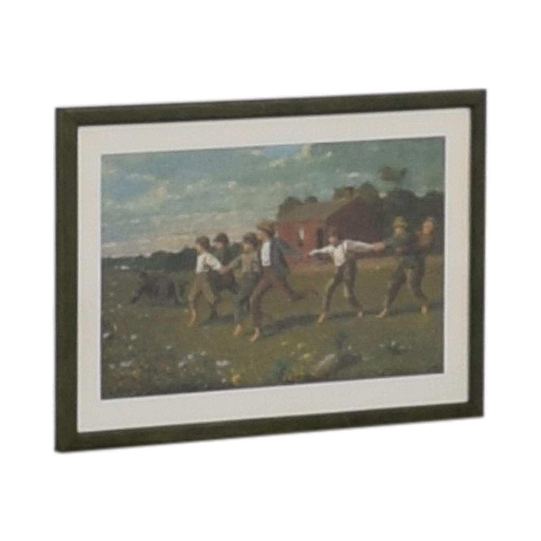 buy  Framed Rustic Scene Print online