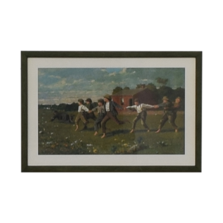 shop Framed Rustic Scene Print  Decor