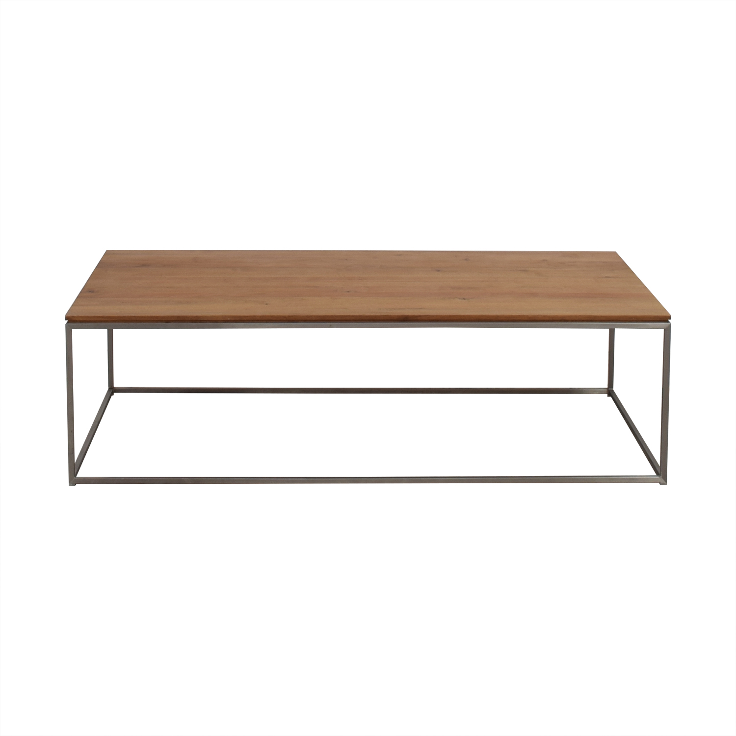 Crate & Barrel Frame Medium Coffee Table / Tables