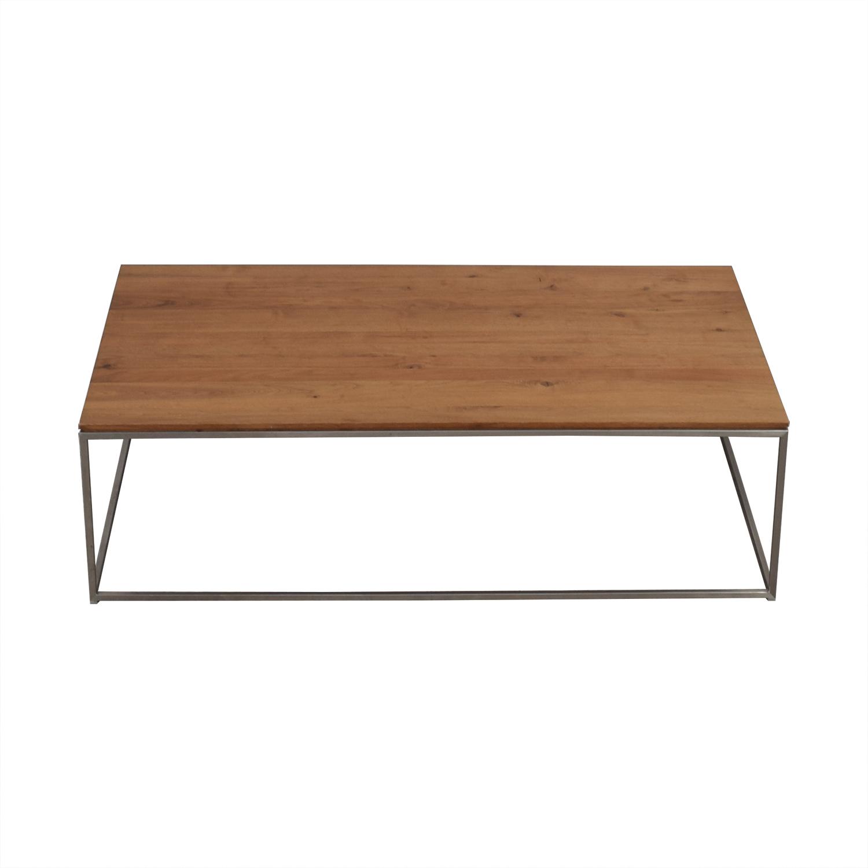 Crate & Barrel Crate & Barrel Frame Medium Coffee Table Tables
