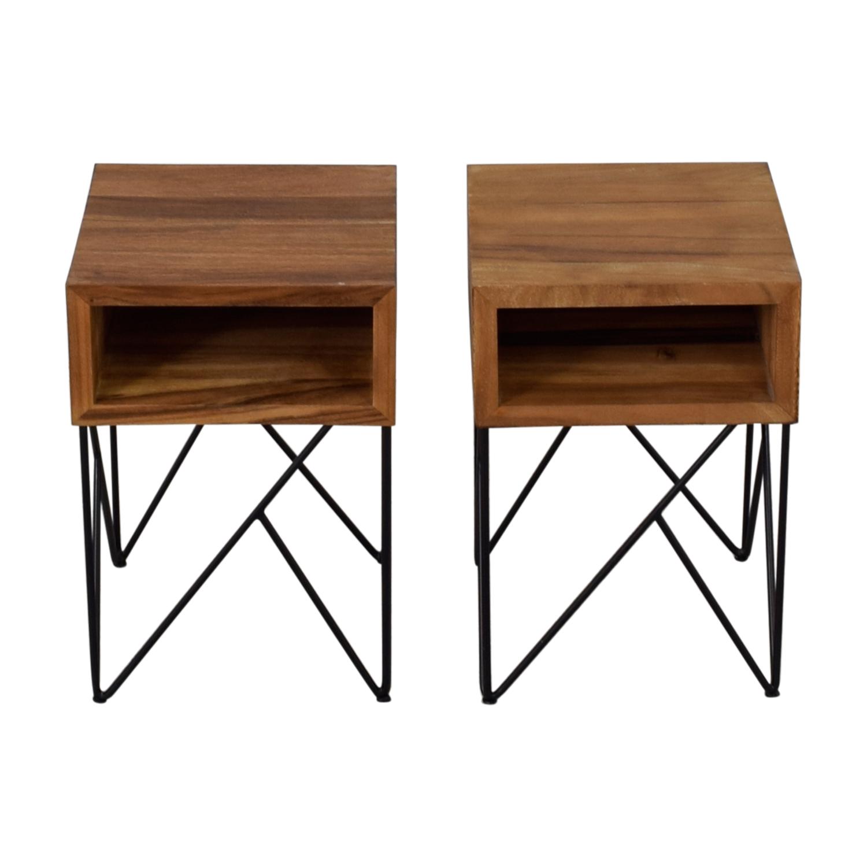 buy Crate & Barrel Crate & Barrel Dixon Side Tables online