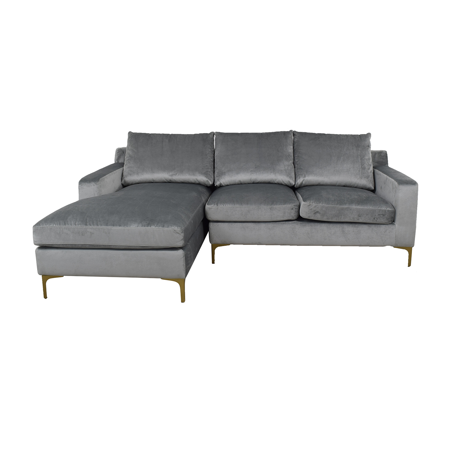 buy  Grey Sloan Left Chaise Sectional online