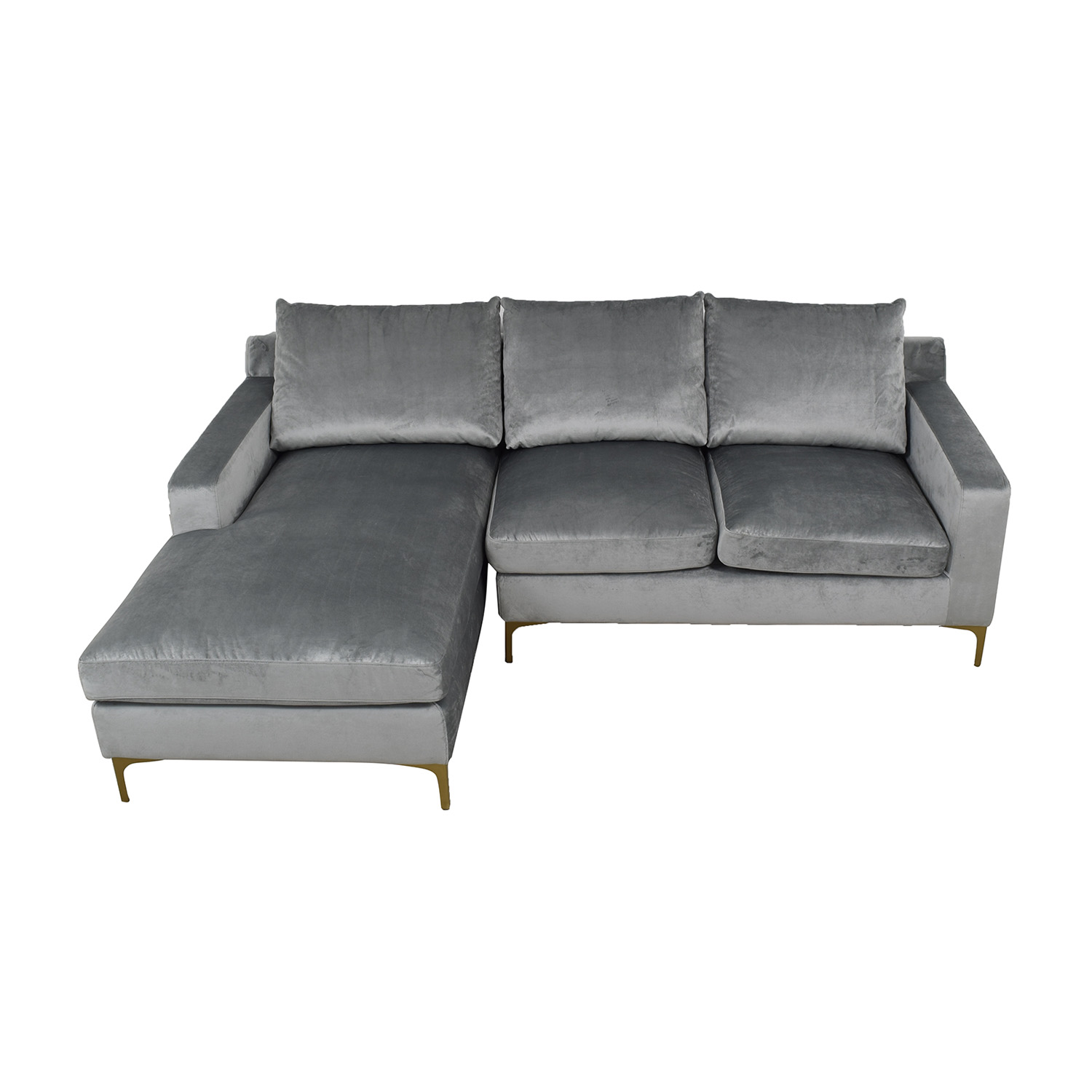 Grey Sloan Left Chaise Sectional Sectionals