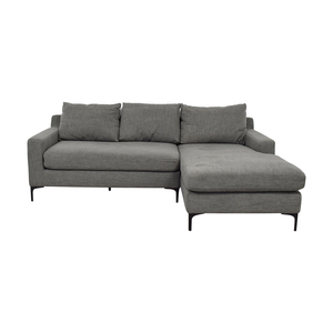 Sloan Right Chaise Sofa on sale