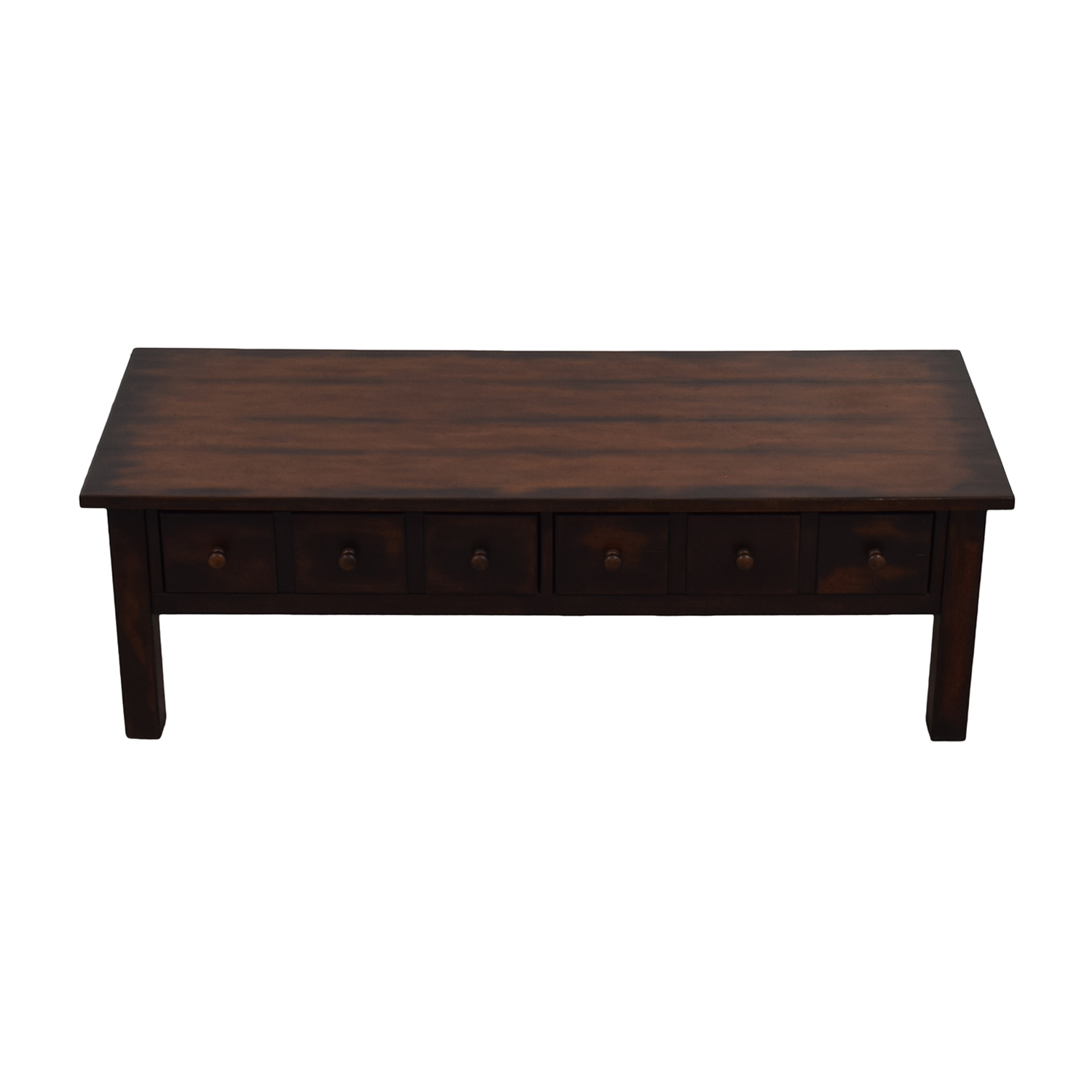 buy Pottery Barn Coffee Table with Drawers Pottery Barn