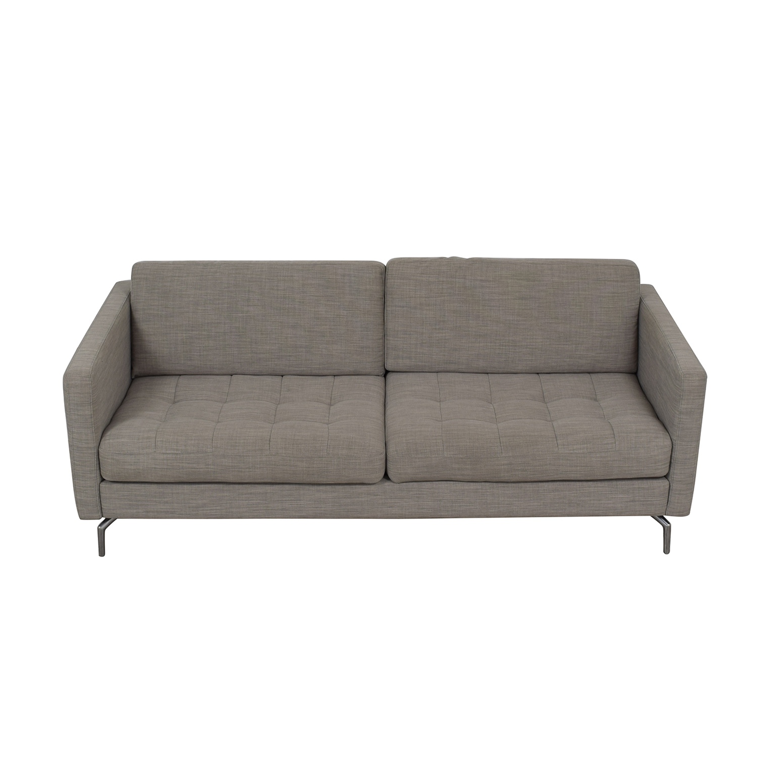 BoConcept BoConcept Osaka Grey Tufted Two-Cushion Sofa price