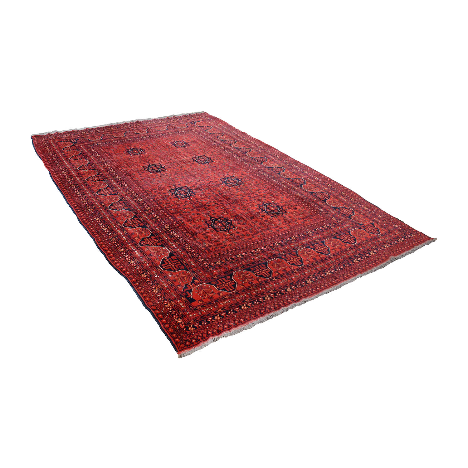shop Red Bohemian Rug