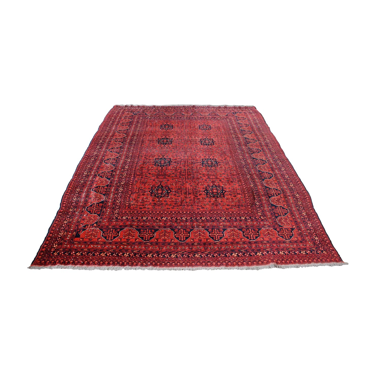 Red Bohemian Rug for sale