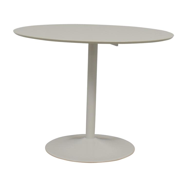 CB2 Odyssey White Dining Table CB2
