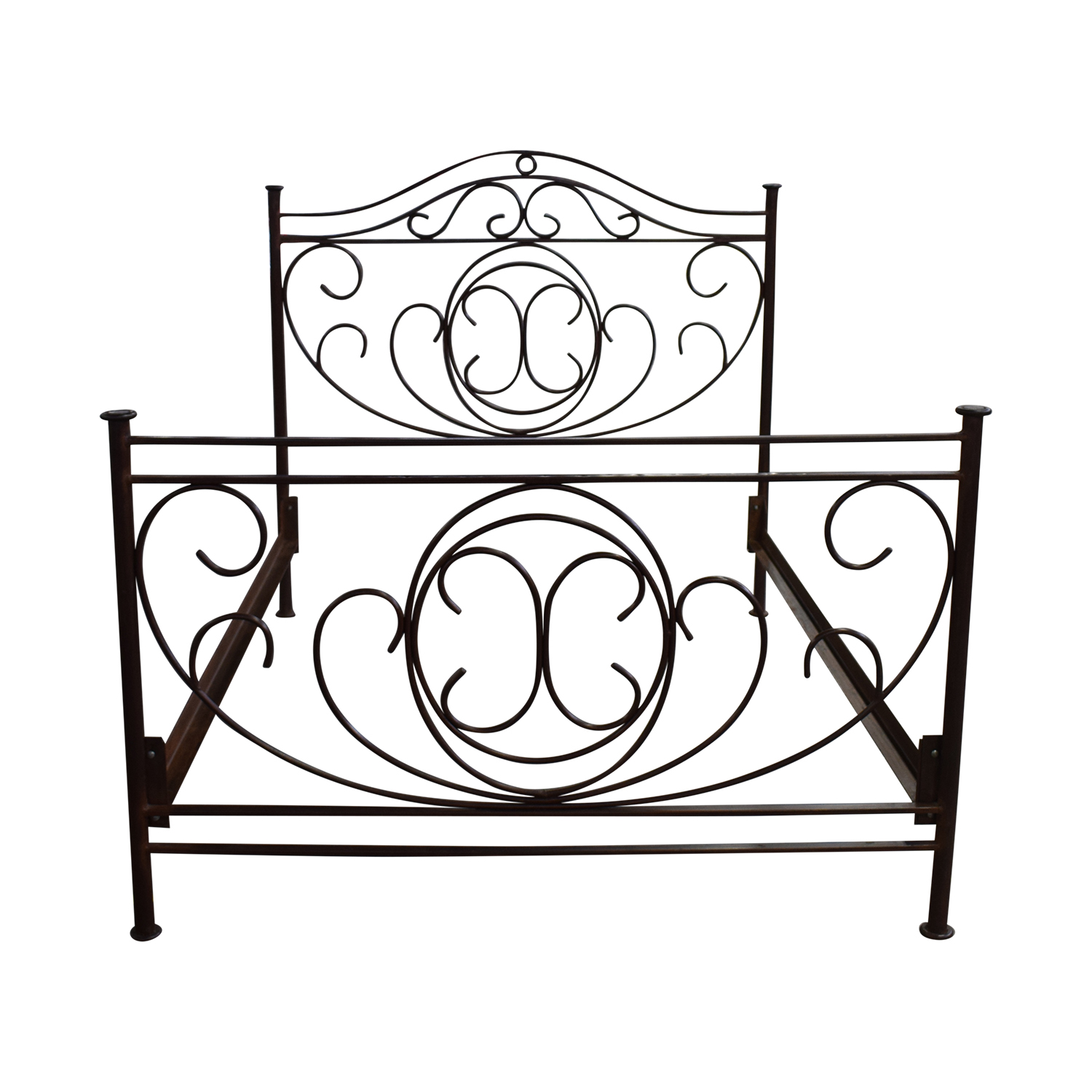 Restoration Hardware Restoration Hardware Brass Queen Bed Frame BROWN/RUSTY