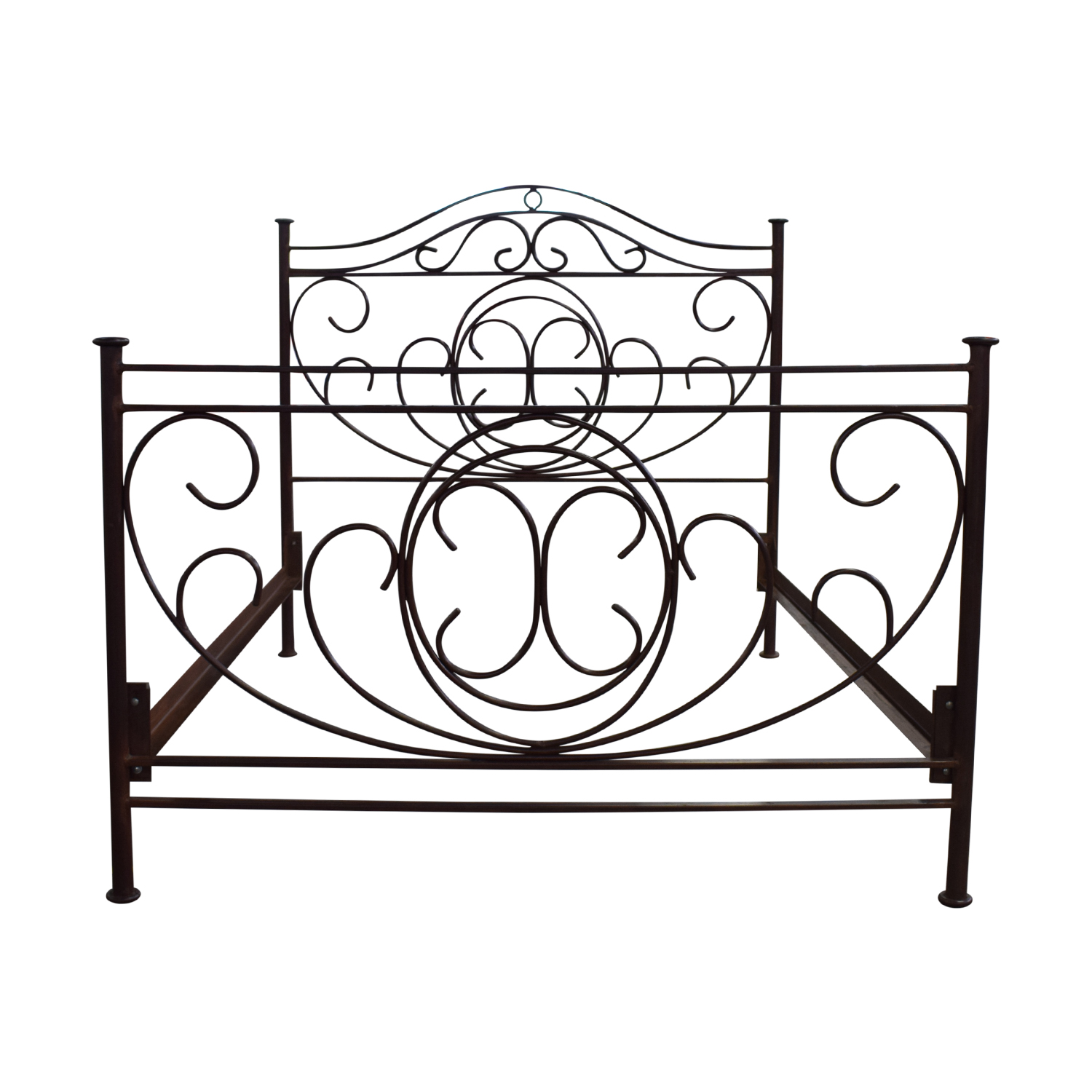 Restoration Hardware Brass Queen Bed Frame Restoration Hardware