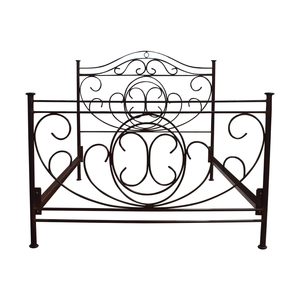 Restoration Hardware Restoration Hardware Brass Queen Bed Frame price