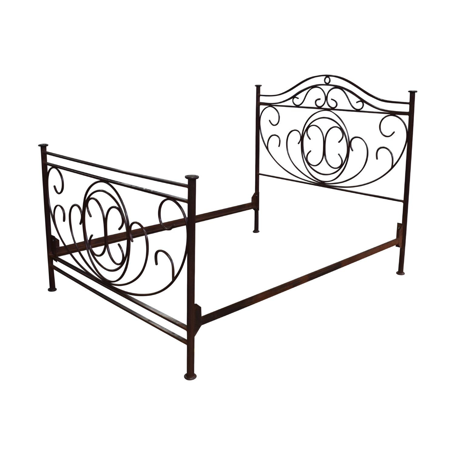 Restoration Hardware Restoration Hardware Brass Queen Bed Frame nj