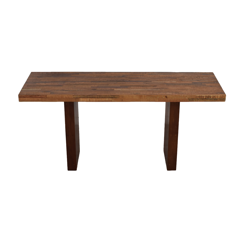 buy Restoration Hardware Rustic Wood Table Restoration Hardware Tables