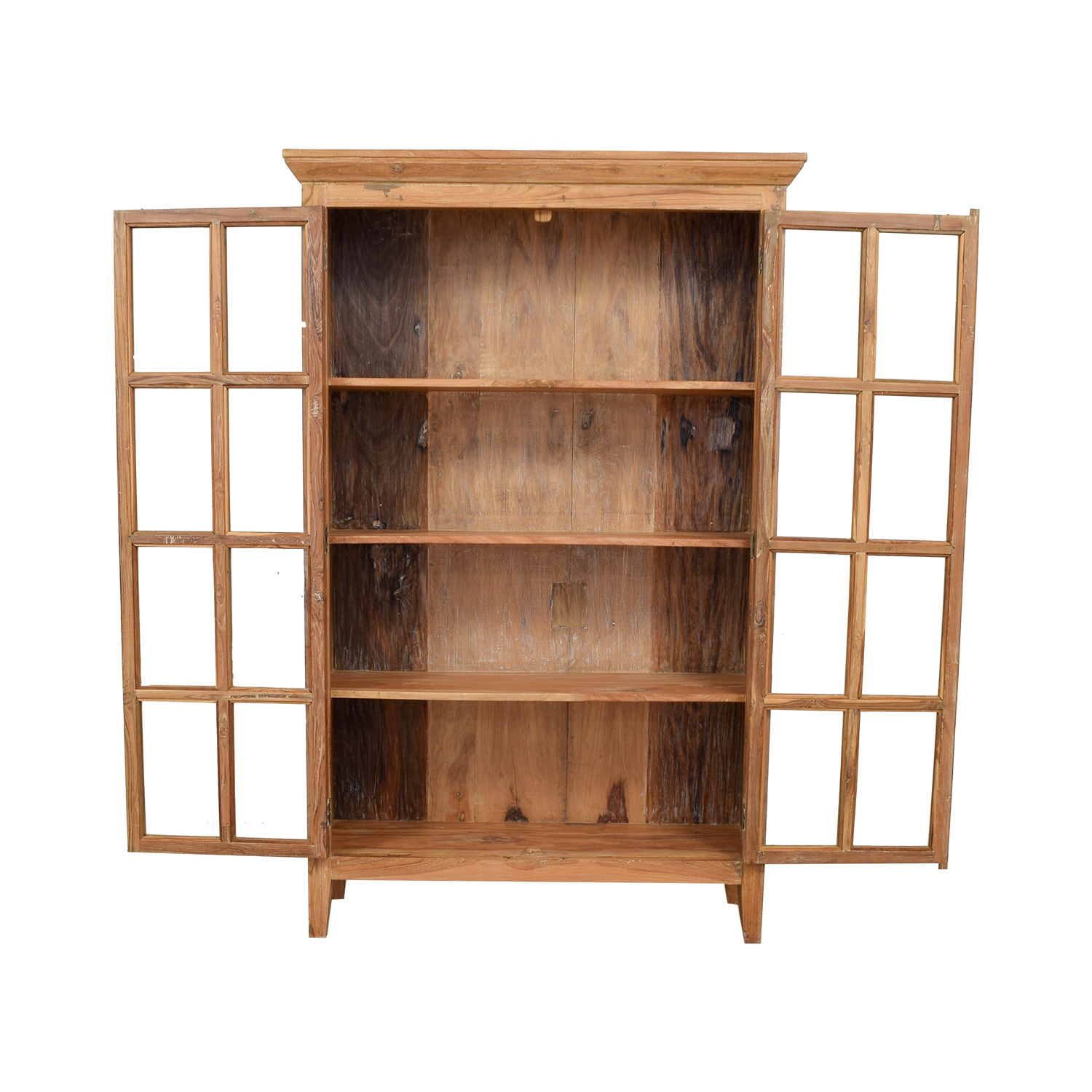 shop  Wood Hutch with French Doors online