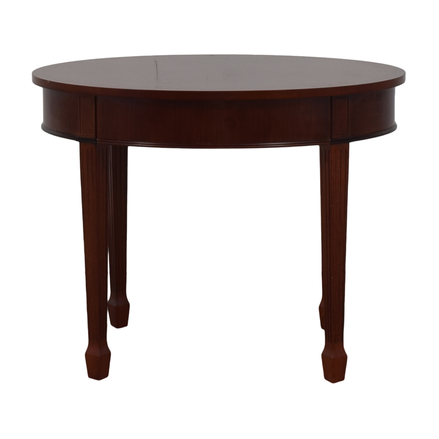 Bombay Company Bombay Company Cherry Wood Oval Table nyc