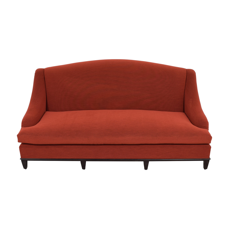Furniture Masters Furniture Masters Red Single-Cushion Sofa