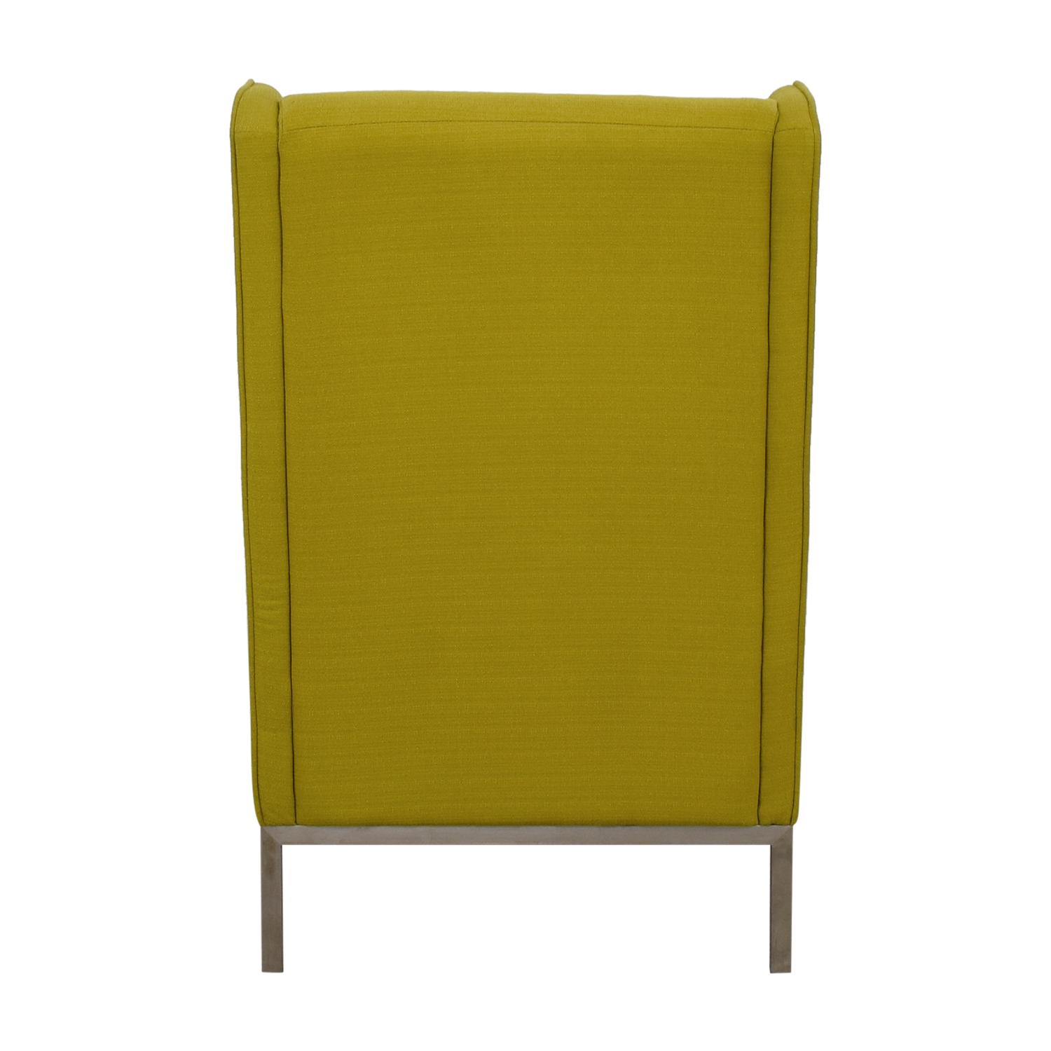 Crate & Barrel Crate & Barrel Neon Green Accent Chair dimensions