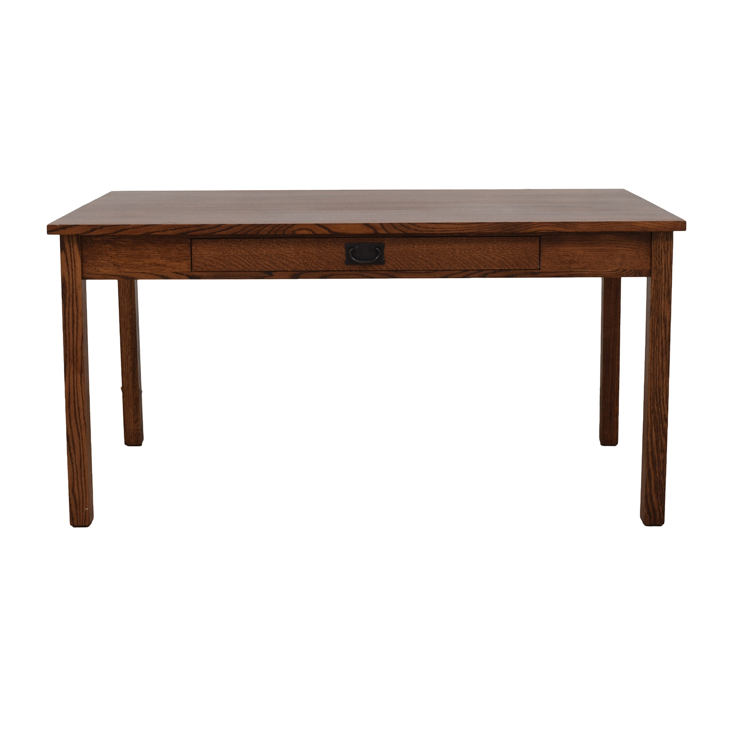 84 Off Mission Style Wood Desk Tables