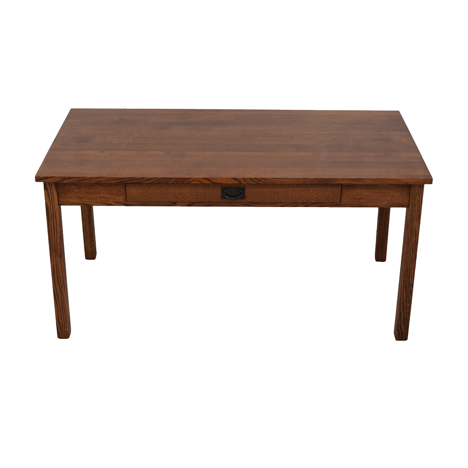 Mission Style Wood Desk dimensions
