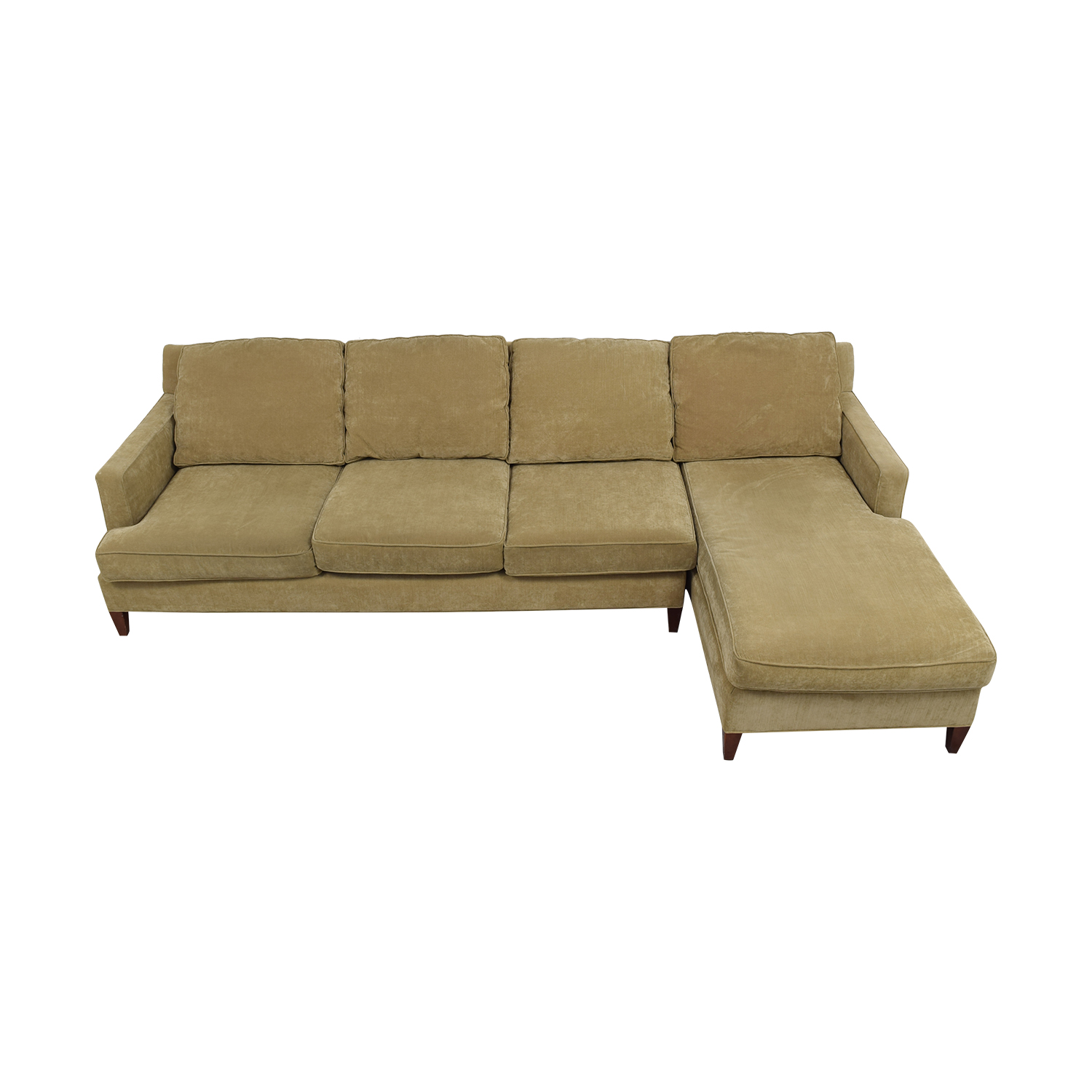 buy Mitchell Gold + Bob Williams Beige Chaise Sectional Mitchell Gold + Bob Williams Sectionals