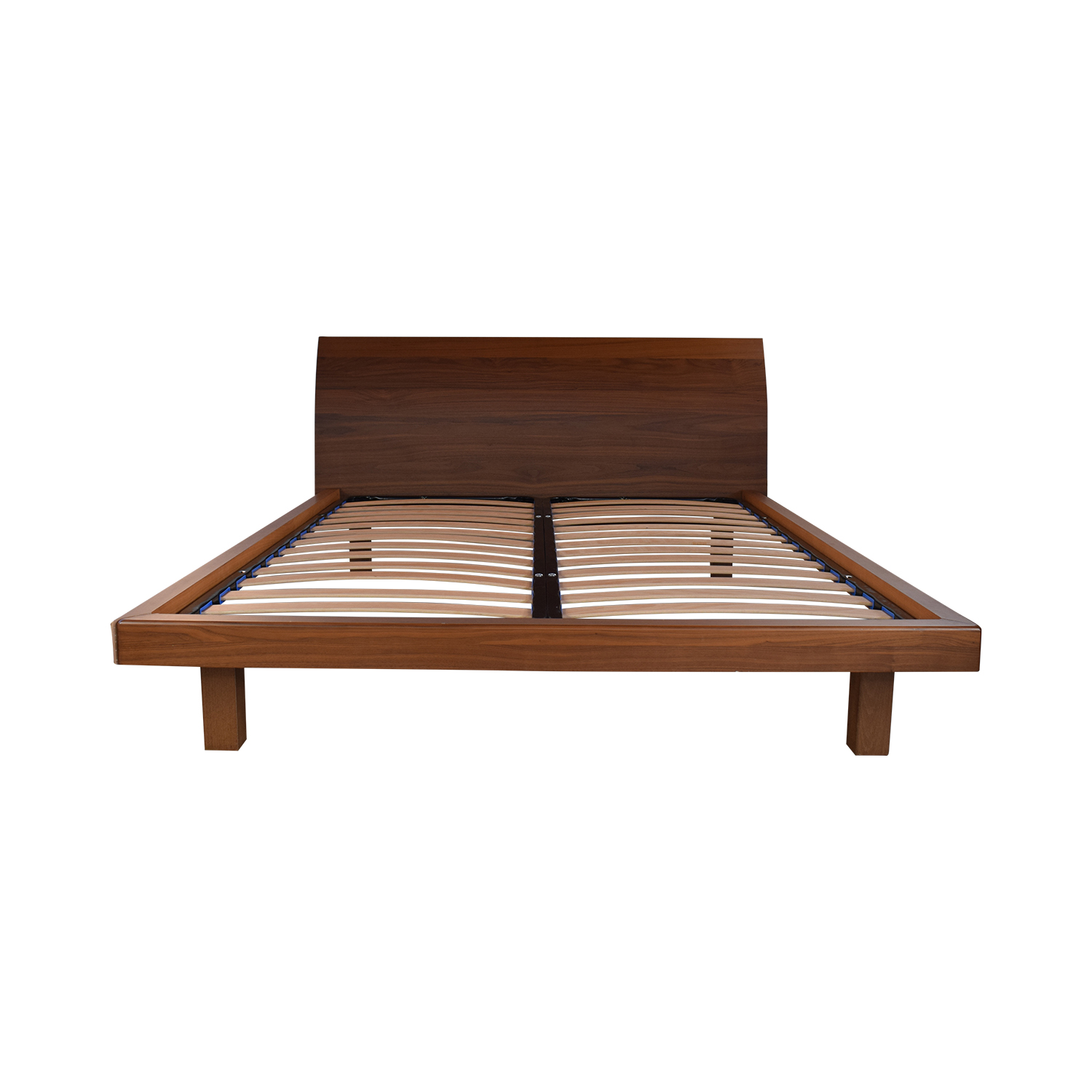 Wood Queen Platform Bed Frame discount