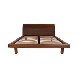 Wood Queen Platform Bed Frame