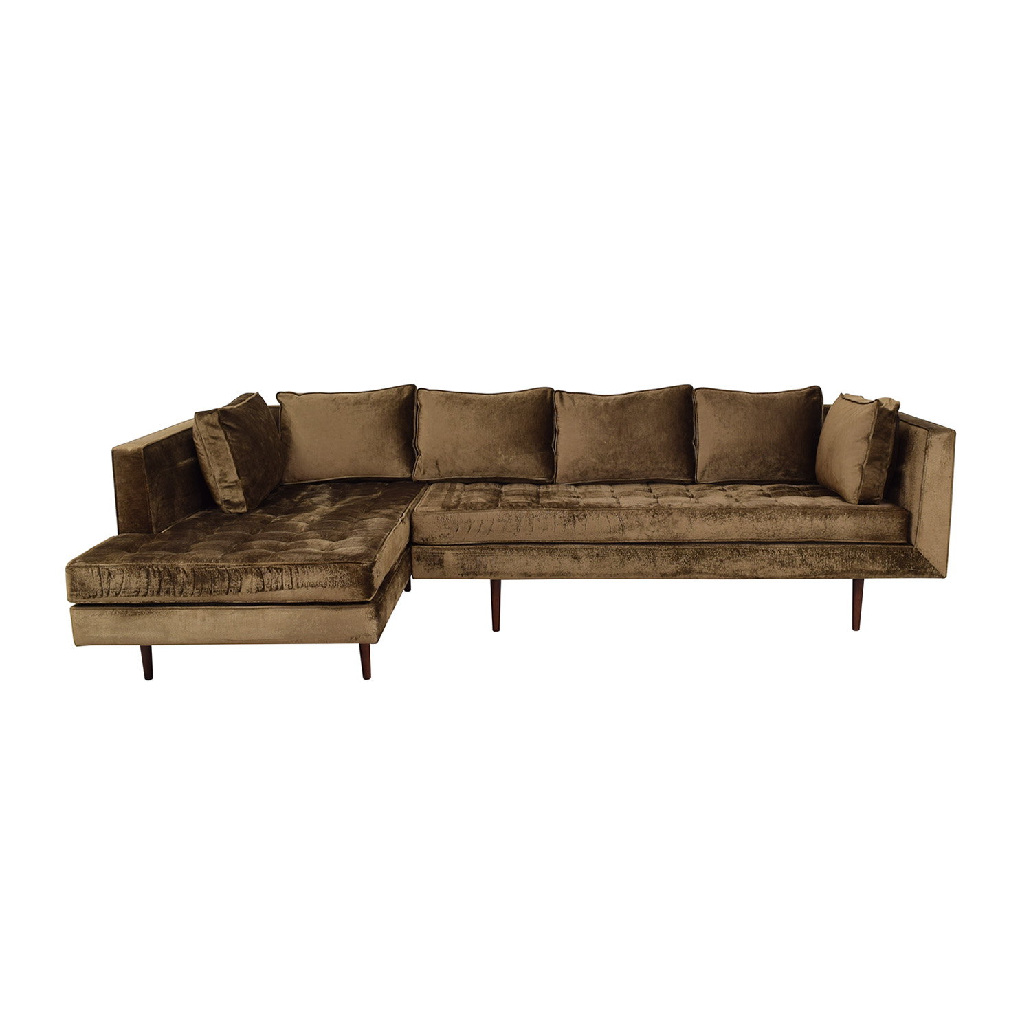 buy Daniel Donnelly Custom L-Shaped Chaise Sectional Daniel Donnelly Sofas