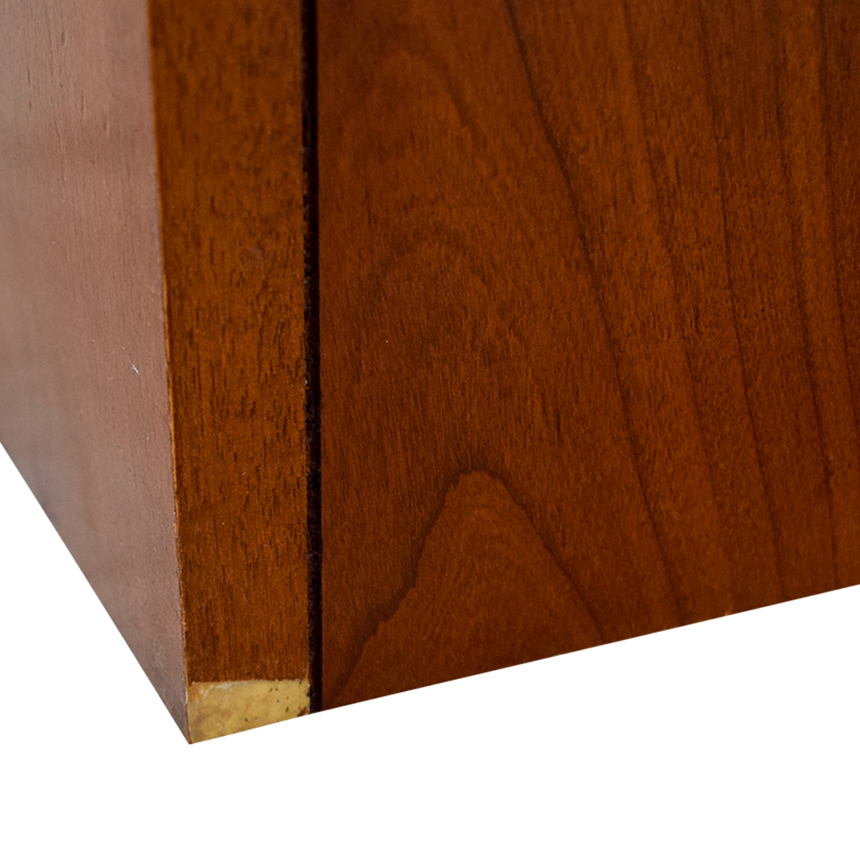 Hooker Hooker Wood Two-Drawer Filing Cabinet second hand