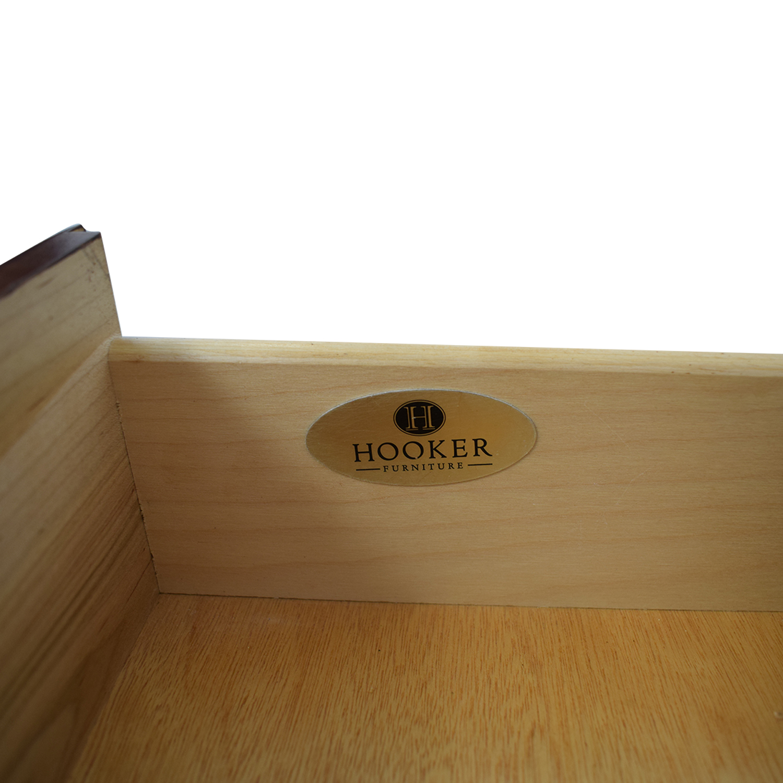 Hooker Hooker Wood Two-Drawer Filing Cabinet dimensions