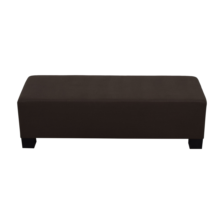 buy Furniture Masters Grey Bench Furniture Masters