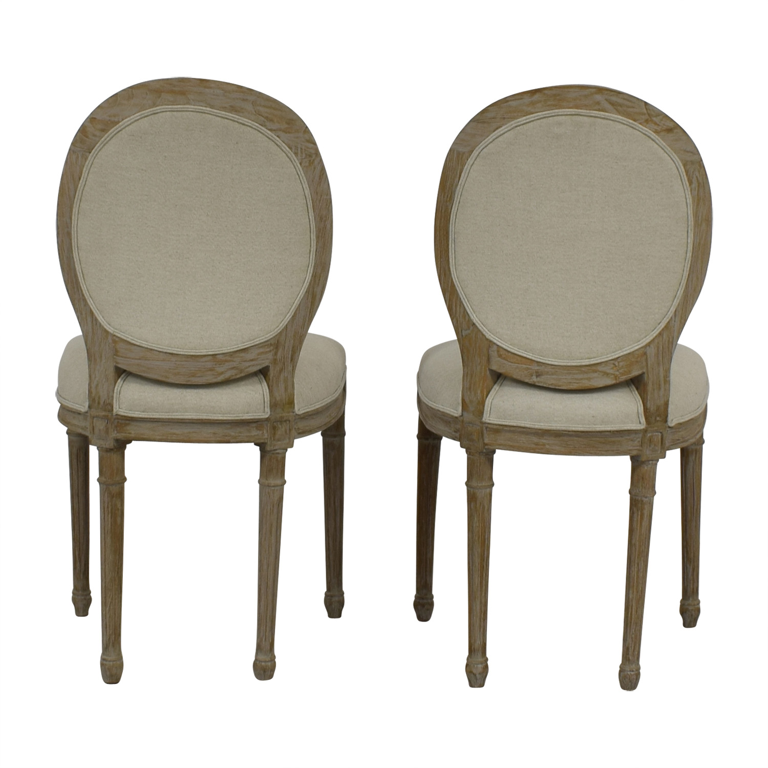 Furniture Masters Furniture Masters Beige Upholstered Dining Chairs on sale