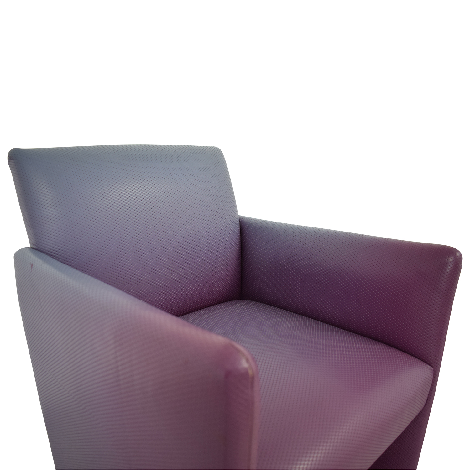 Furniture Masters Furniture Masters Purple Accent Chair second hand